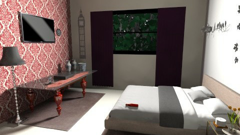 br2 - Bedroom - by saraftayeh