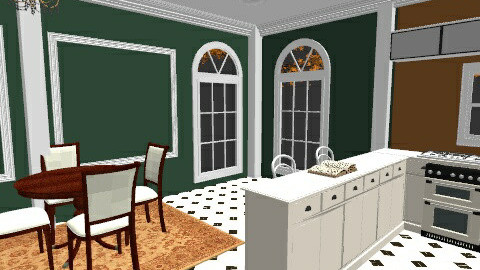 mustard green - Country - Kitchen  - by mel1808