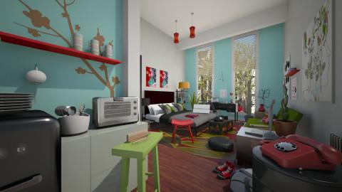 Lisas  - Living room  - by Mum Dali