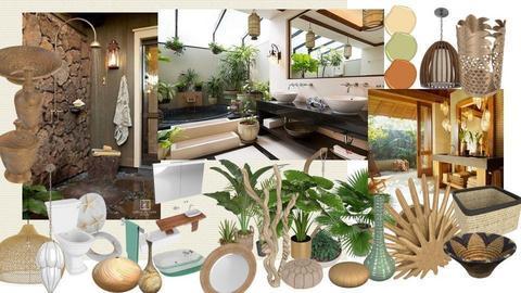 Tropical Bathroom Ideas - by Feeny