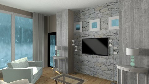 living  - Living room - by Lizette Najera