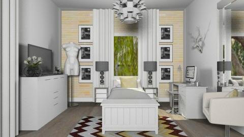 Fresh Bedroom  - Eclectic - Bedroom  - by Baustin