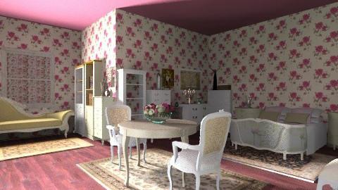 vintage room - Vintage - Bedroom  - by umbrella