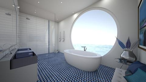 Outlook for days - Modern - Bathroom  - by ejwinteriors