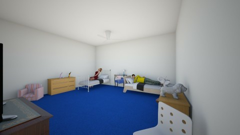 Alberto and Tatiana room - Classic - Kids room - by fortrileymiddle128