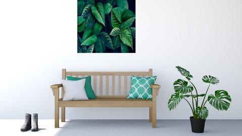 pretty in green - by nihalruttala