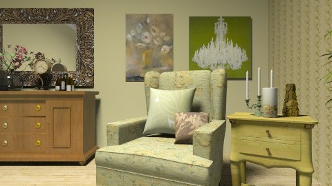 Olive  - Country - Living room  - by deleted_1566988695_Saharasaraharas