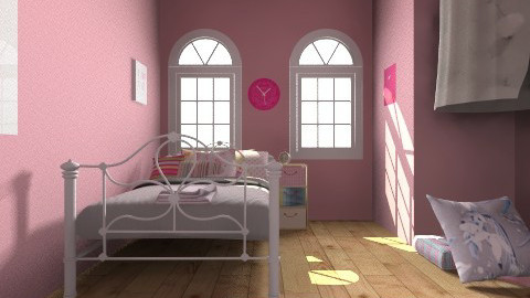 perfect in pink - Feminine - Kids room - by iheartteddy