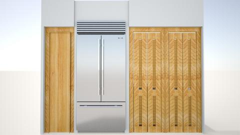 Kitchen Partition - Country - Kitchen  - by radyckle