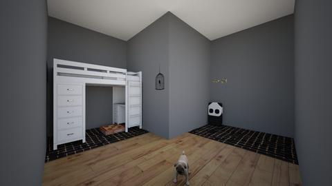 My Dream Bedroom - Minimal - Bedroom  - by siac