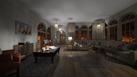 Design 9 CHENILLE - Glamour - Living room  - by M I C H E L L E