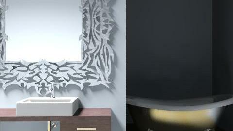 baño hotel - Glamour - Bathroom  - by mariloli