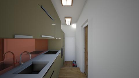 Japanese Style Small Apt3 - Kitchen  - by SammyJPili