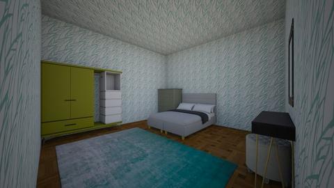 Modern Bedroom - Modern - Bedroom  - by Kyla187