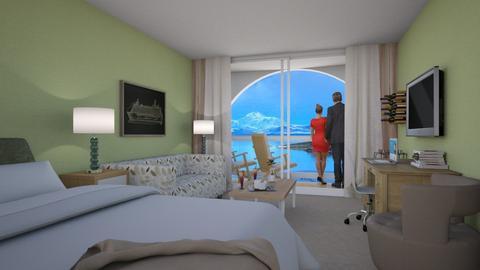 Alaska Cruise - Eclectic - Bedroom  - by Theadora
