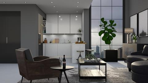 591 - Modern - Kitchen  - by Claudia Correia