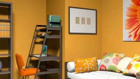 hot - Retro - Bedroom  - by nora7