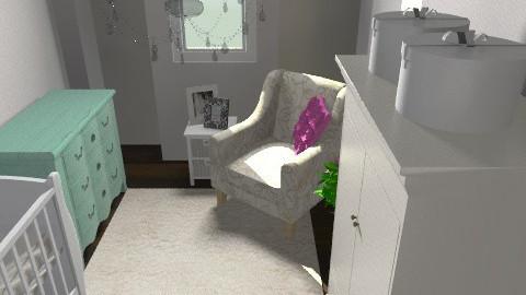 nursery 7 - Eclectic - Kids room  - by dorotapomiankiewicz