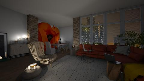 stop ceiling lighting - Living room - by cuneyt oznur