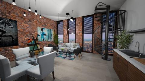 sophisticated loft - by chloelm92