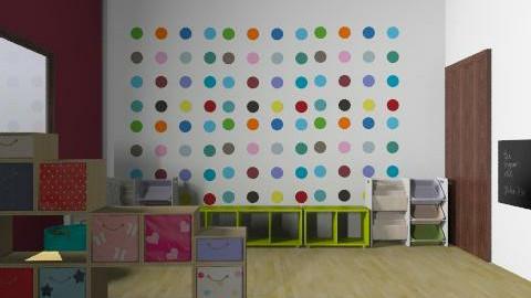 ici daycare - Vintage - Kids room  - by mehar