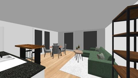 Omega 1b - Living room  - by Roosstyler