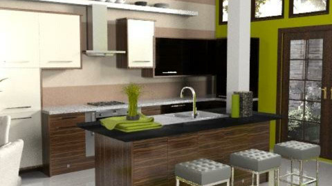 Cubrick - Modern - Kitchen  - by dominicjames