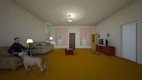 Family Home - Living room  - by WestVirginiaRebel
