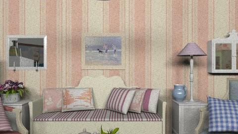 Rustic_ - Rustic - Living room  - by milyca8