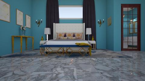 danii bedroom left - Classic - Bedroom - by decordiva1