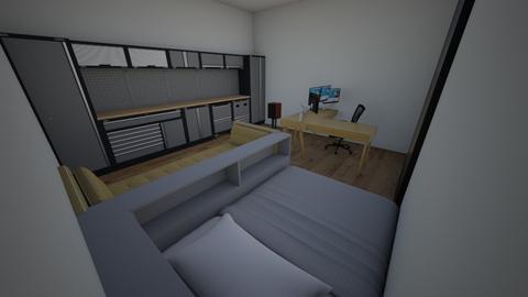 My bedroom - Office  - by JokiBokiD