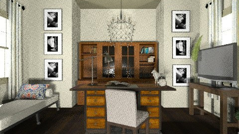 Home Office - Classic - Office  - by Baustin
