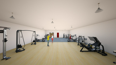 Gym - by hanzhe cottrell