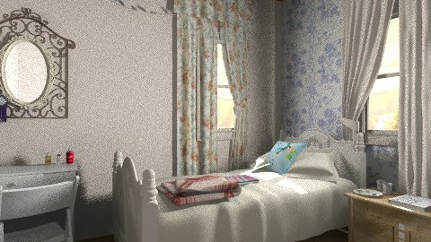 Close the Curtains - Classic - Bedroom  - by BambooPenguin