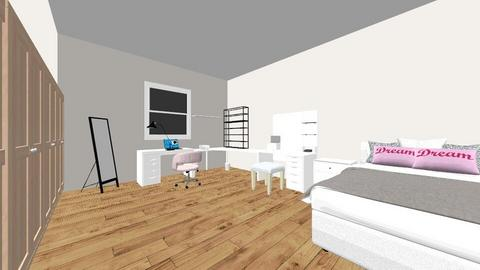 Quarto makeover - Minimal - Bedroom  - by elianewime