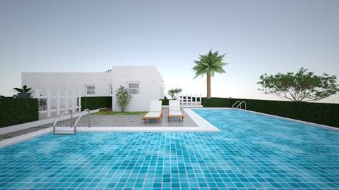 Villa Rosa - Modern - Garden - by Joanne2004