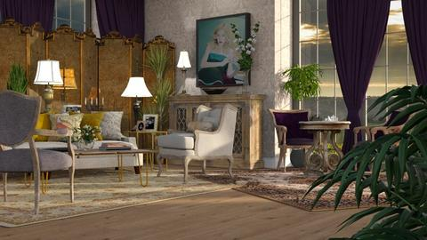 Maximalist Living Room - Living room - by GraceKathryn