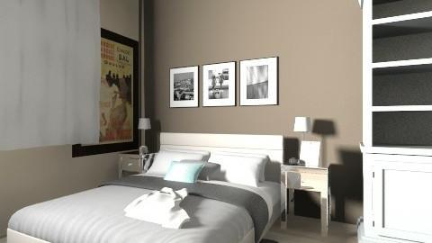 201423 - Rustic - Bedroom  - by Lienw