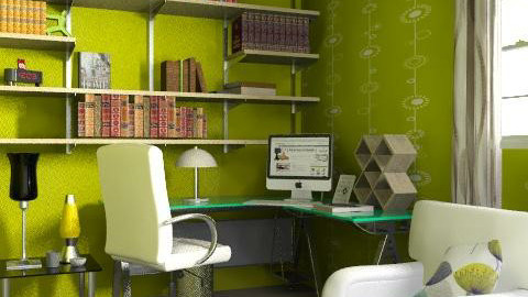 Green Office - Modern - Office  - by AlexKarm