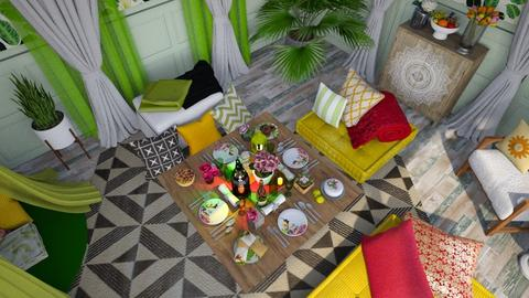 home picnic - Living room  - by donella