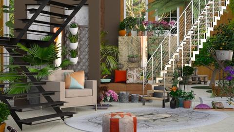 Green House Living - Modern - Living room  - by Gurns