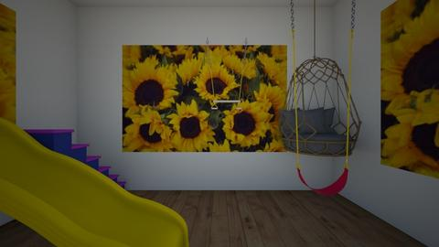 place to hangout  - Kids room  - by october DeBower