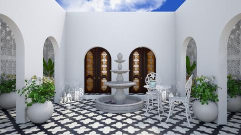 Moroccan Courtyard - Garden  - by MyDesignIdeas