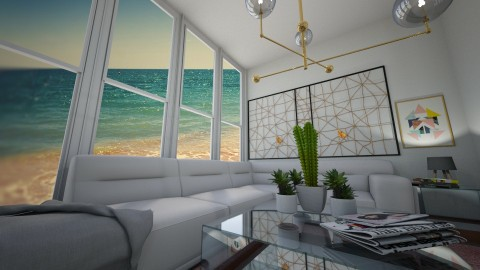 AWSOME RIGHT YEA IK - Eclectic - Living room  - by yamz
