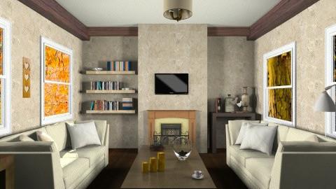 livingroom3 - Rustic - Living room  - by mariaemiliahltm