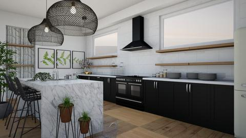 Marble  - Glamour - Kitchen  - by Happyperson567