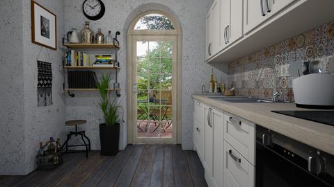 Shabby - Kitchen  - by Tuija
