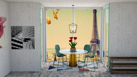 Peaceful Dinning room - Vintage - Dining room  - by Coco_Iover