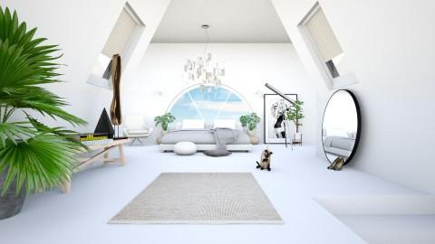 Attic - Minimal - Bedroom  - by esmeegroothuizen