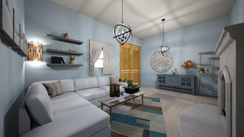 Blurry Linving - Rustic - Living room  - by Camilla04
